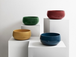 włoska ceramika, umywalki cielo, kolorowe umywalki, umywalka nablatowa