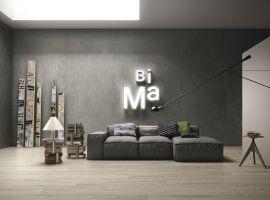 ariostea; płyty wielkoformatowe; nowoczesne wnętrze; efekt metalu; efekt cementu