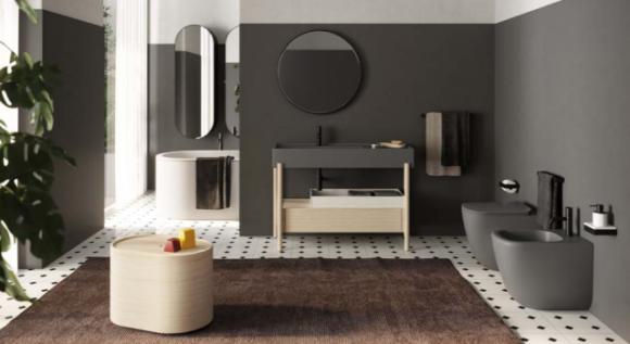 stylowa umywalka łazienkowa; nowoczesna umywalka łazienkowa;