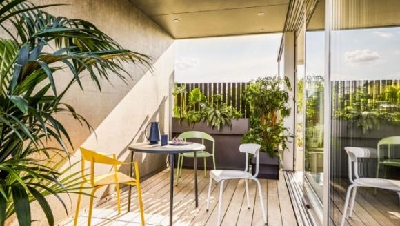 krzesła do ogrodu, nowoczesne krzesła tarasowe, conmoto