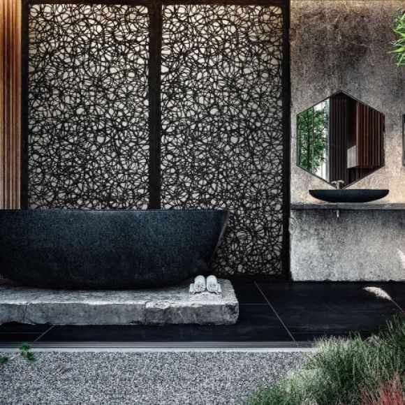 panele bazaltowe, meble z lawy wulkanicznej, nowoczesne meble, nowoczesny design, nowoczesne meble bazaltowe, nowoczesne meble na taras