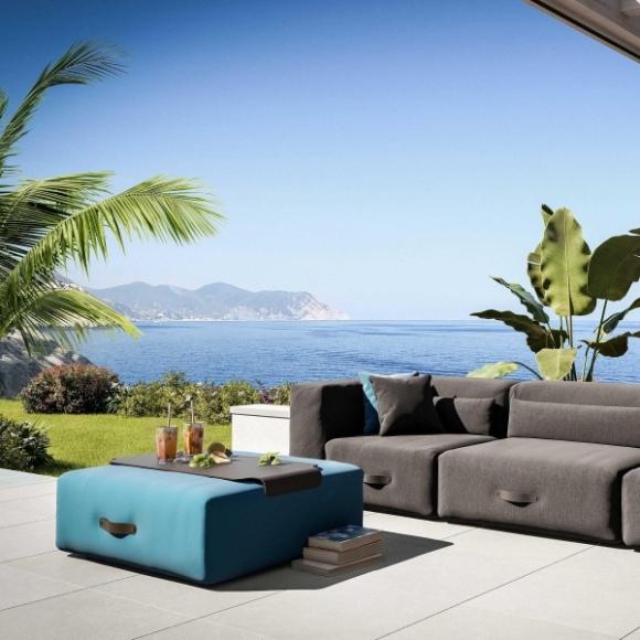 nowoczesna sofa do salonu; designerski mebel; kolorowa sofa; modułowa sofa