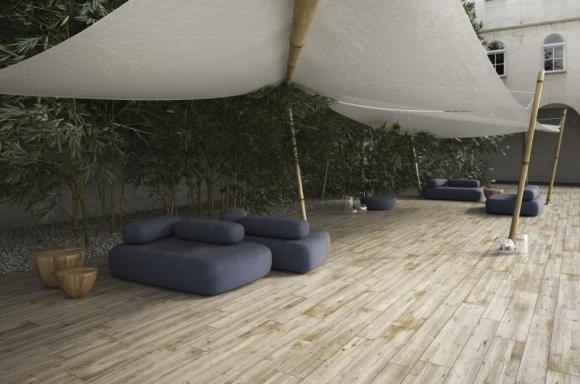 ariostea; płyty wielkoformatowe; nowoczesne wnętrze; efekt drewna; płytki drewniane; płyty drewniane