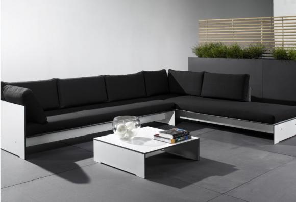 stolik prostokątny z hpl; nowoczesny stolik; praktyczny stolik; mebel do salonu i ogrodu