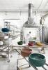 włoska ceramika łazienkowa, kolorowe umywalki