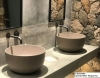 włoska ceramika; wyposażenie do łazienek; ręcznie wykonana ceramika; nowoczesna umywalka; oryginalna umywalka
